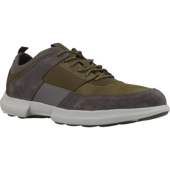 Zapatos Hombre Zapatillas bajas Geox U TRACCIA Verde