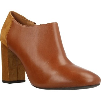 Zapatos Mujer Low boots Geox D AUDALIES HIGH Marron