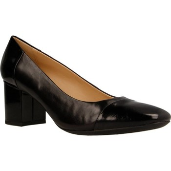 Zapatos Mujer Zapatos de tacón Geox D NEW SYMPHONY MID Negro