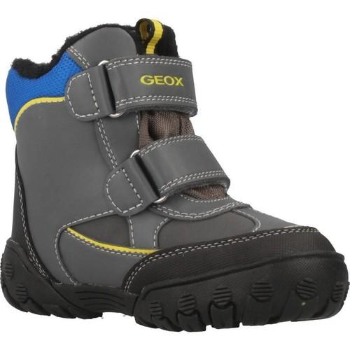Zapatos Niño Botas de nieve Geox B GULP B BOY ABX Gris