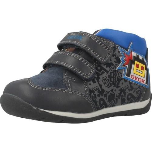 Zapatos Niño Zapatillas altas Geox B EACH BOY Azul