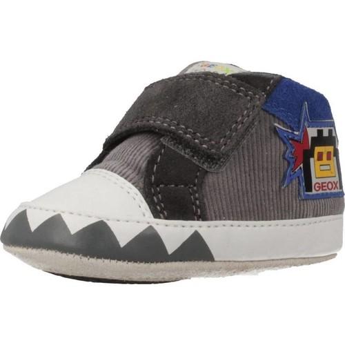 Zapatos Niño Zapatillas altas Geox B IAN Gris
