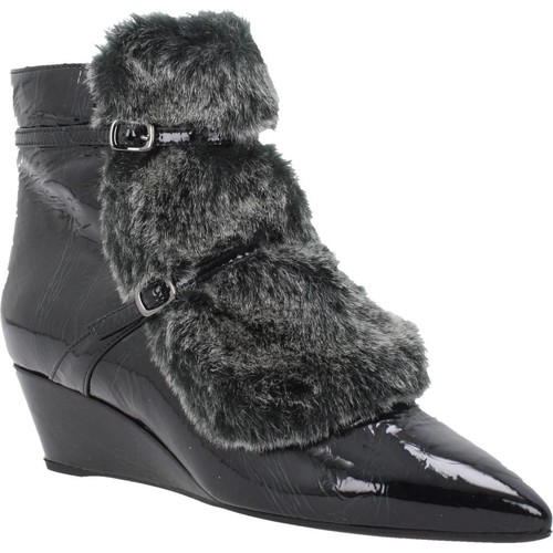 Zapatos Mujer Botas de caña baja Geox D JAUNIE A Negro