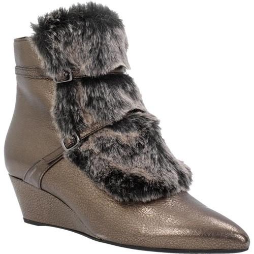 Zapatos Mujer Botas de caña baja Geox D JAUNIE A Marron