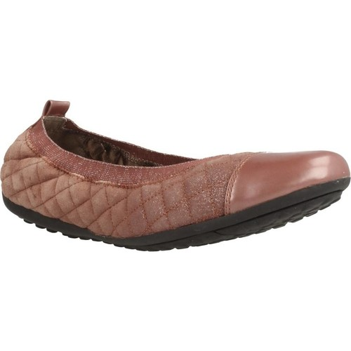Zapatos Mujer Bailarinas-manoletinas Geox D PIUMA BALLERINA Rosa