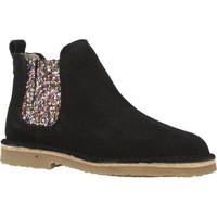 Zapatos Niña Botas de caña baja B-Run 301B Negro