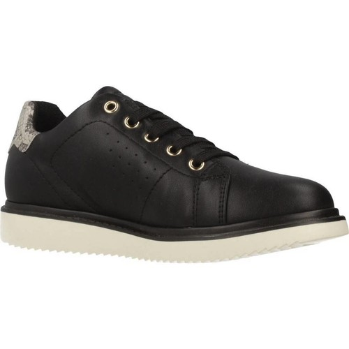 Zapatos Niña Zapatillas bajas Geox J THYMAR GIRL Negro