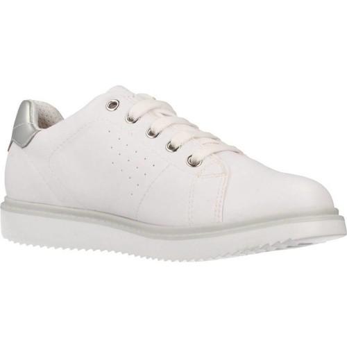 Zapatos Niña Zapatillas bajas Geox J THYMAR GIRL Blanco