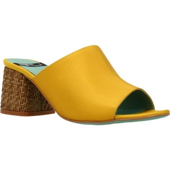 Zapatos Mujer Zuecos (Mules) Lab 18254 431 Amarillo