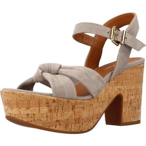 Alpe 3763 12 Gris - Zapatos Sandalias Mujer