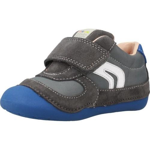 Geox B TUTIM Azul - Zapatos Pantuflas Nino