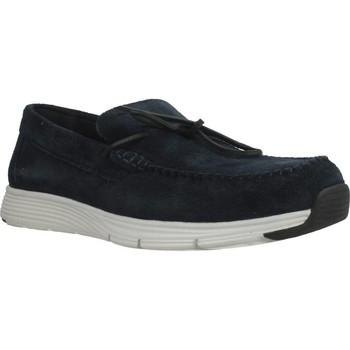 Zapatos Hombre Mocasín Geox U SNAPISH Azul