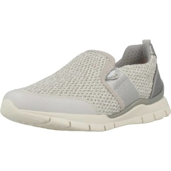 Zapatos Niña Slip on Geox J SUKIE GIRL Plata