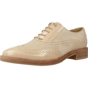 Zapatos Mujer Derbie Geox DONNA BROGUE Marron