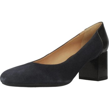 Zapatos Mujer Zapatos de tacón Geox D AUDALIES MID Azul