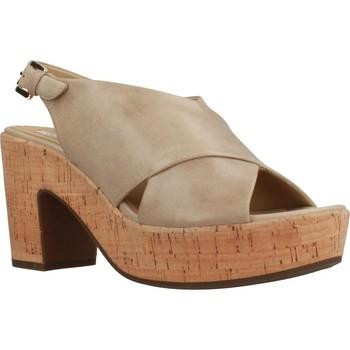 Zapatos Mujer Sandalias Geox D ZAFERLY Marron