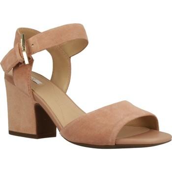 Zapatos Mujer Sandalias Geox D MARILYSE Marron