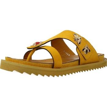 Zapatos Mujer Chanclas Elvio Zanon H0504P Amarillo