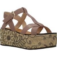 Zapatos Mujer Sandalias Elvio Zanon H0804P Marron