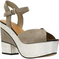 Zapatos Mujer Sandalias Elvio Zanon H5701P Marron