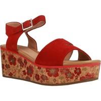 Zapatos Mujer Sandalias Stonefly DIVA 2 Rojo