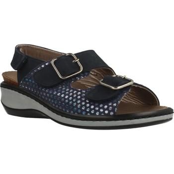 Zapatos Mujer Sandalias Mateo Miquel 3297M Azul