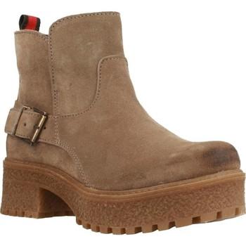 Zapatos Mujer Botas de caña baja Oii! 5009O Marron
