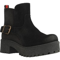 Zapatos Mujer Botas de caña baja Oii! 5009O Negro