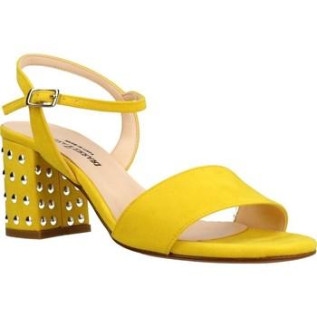 Zapatos Mujer Sandalias Eliza Ferrari 170 60 Amarillo