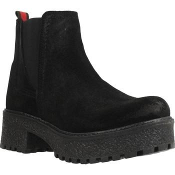 Zapatos Mujer Botas de caña baja Oii! 5010O Negro