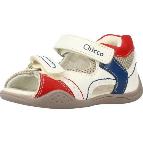 Zapatos Niño Sandalias Chicco GIM Blanco