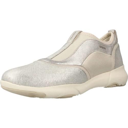 Zapatos Mujer Slip on Geox D NEBULA S Plata