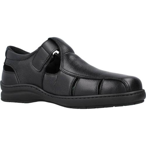 Zapatos Hombre Sandalias Pinoso's 6008H Negro