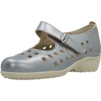 Zapatos Mujer Derbie & Richelieu Pinoso's 7579 G Plata