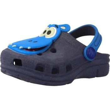 Zapatos Niño Zuecos (Clogs) Plugt BABUCHE BABY NEON PAPA T Azul
