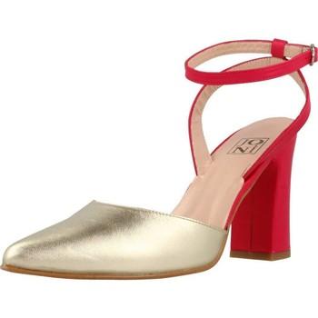 Zapatos Mujer Sandalias Joni 15500 Rojo
