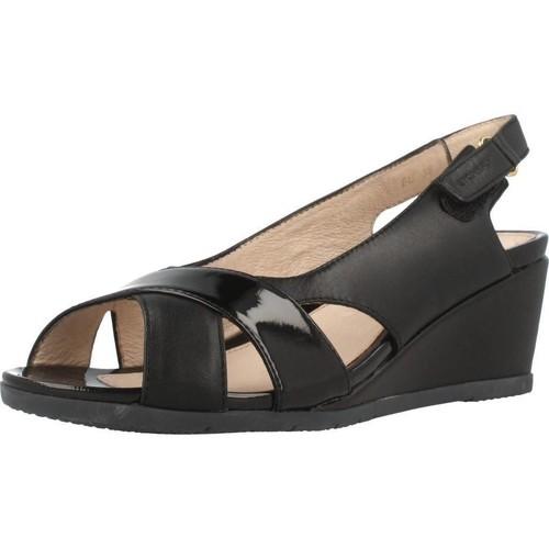 Zapatos Mujer Sandalias Stonefly SWEET III 4 Negro