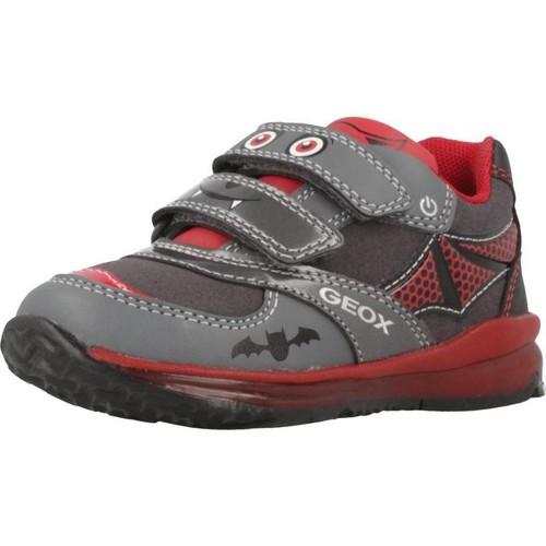 Zapatos Niño Zapatillas bajas Geox B TODO B.A Gris
