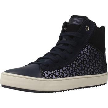 Zapatos Niña Zapatillas altas Geox J KALISPERA G.D Azul