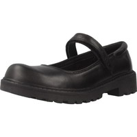 Zapatos Niña Derbie & Richelieu Geox J CASEY GIRL Negro