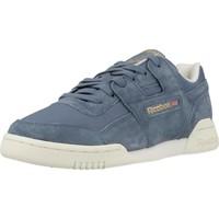 Zapatos Mujer Zapatillas bajas Reebok Sport WORKOUT LO PLUS Azul
