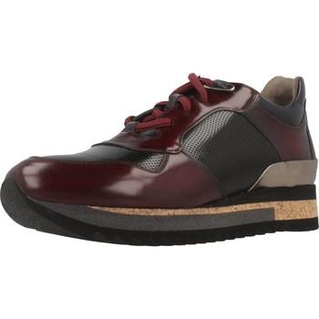 Zapatos Mujer Zapatillas bajas Angel Infantes 570A Rojo