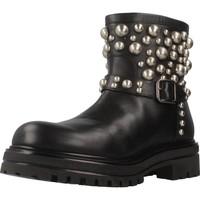 Zapatos Mujer Botas de caña baja Albano 8036AL Negro