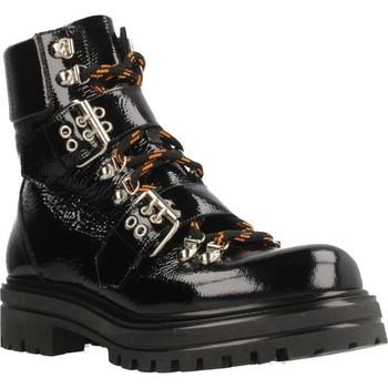 Zapatos Mujer Botines Albano 8056AL Negro