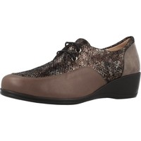 Zapatos Mujer Derbie Argenta 30251 Marron