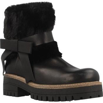 Zapatos Mujer Botas de caña baja Elena 38002C Negro