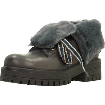Zapatos Mujer Botas de caña baja Elena 38132C Gris