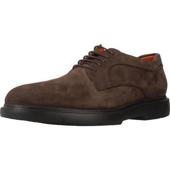 Zapatos Hombre Derbie Stonefly TRUMAN 1 NUBUK Marron