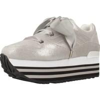 Zapatos Mujer Zapatillas bajas Apepazza 83013 Plata