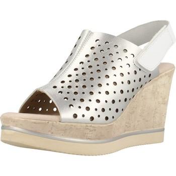 Zapatos Mujer Sandalias Carmela 66165C Plata